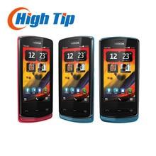Nokia 700 Original 700 unlocked Refurbished mobile phone Bluetooth WiFi 3.2 inches 5 MP freeship one year warranty