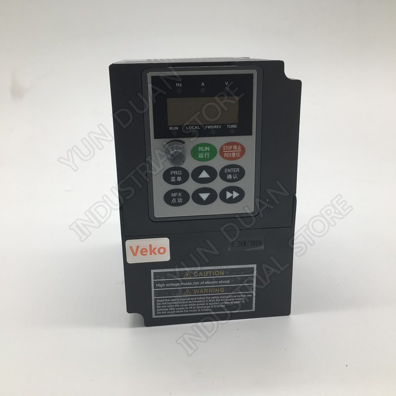 2.2KW 3HP  Universal Frequency Converter 380V 5.1A 3Phase input Vector VFD 3 phase output PID CE For CNC Router Spindle Fan2.2KW 3HP  Universal Frequency Converter 380V 5.1A 3Phase input Vector VFD 3 phase output PID CE For CNC Router Spindle Fan