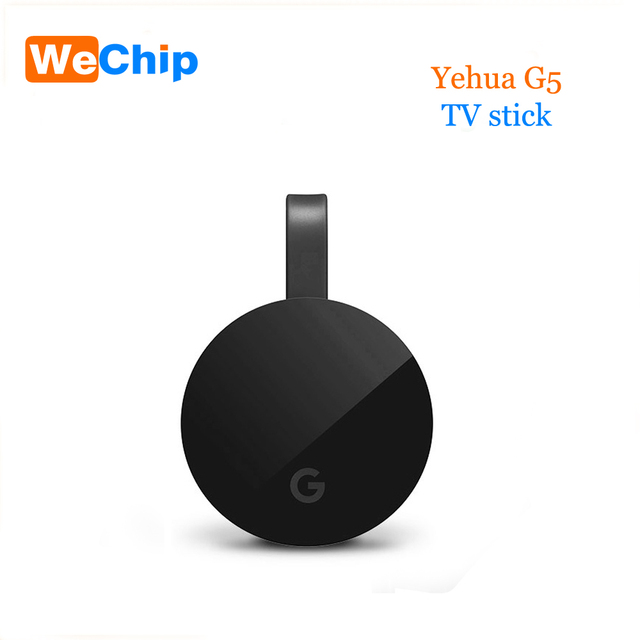 Yehua G5 טלוויזיה מקל תמיכה HDMI Miracast Airplay 1080 P HD Chorme יצוק אלחוטי Dongle טלוויזיה מקל עבור אנדרואיד iOS חלון OS