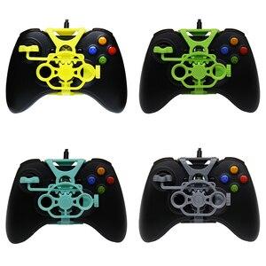 Image 1 - Xbox 360 Gaming Racestuur, 3D Gedrukt Mini Stuurwiel voeg op voor Xbox 360 Controller