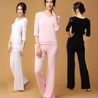 Women S Yoga Sets New Increase The Code Breathable Quick Drying Modal Hollow Design In The