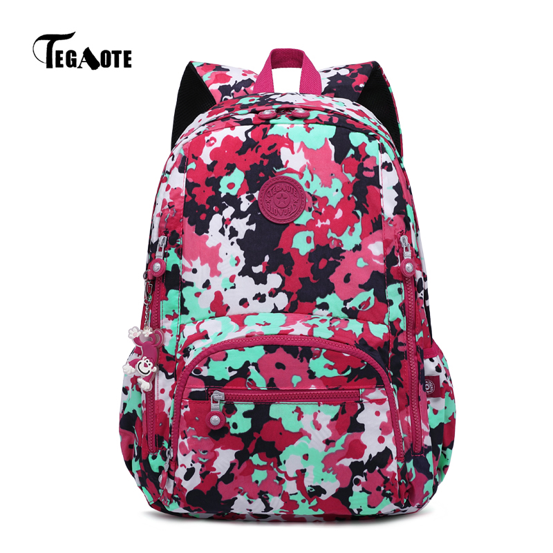 Tegaote Backpack Female School Bag For Teenage Girls Mochilas Mujer Women Travel Laptop Bagpack Casual Back Pack Sac A Dos 2018