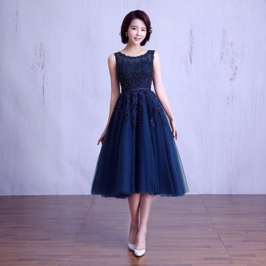 Women's Tea Length Evening Dresses