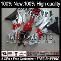 Body Body For YAMAHA YZFR6 06 07 Red White YZF 600 YZF R 6 YZF600 JK967
