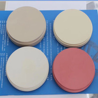 98 12mm 98 14mm Natural White Yellow Pink Colored PEEK Dental Disc CAD CAM Dental Prosthetics