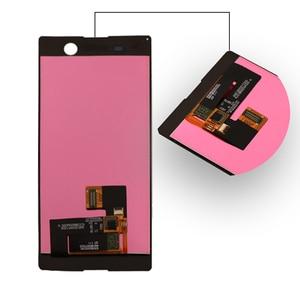 Image 2 - Per Sony Xperia M5 LCD display originale per Sony Xperia M5 A CRISTALLI LIQUIDI di tocco digitale dello schermo di E5603 E5606 E5653 del telefono mobile accessori