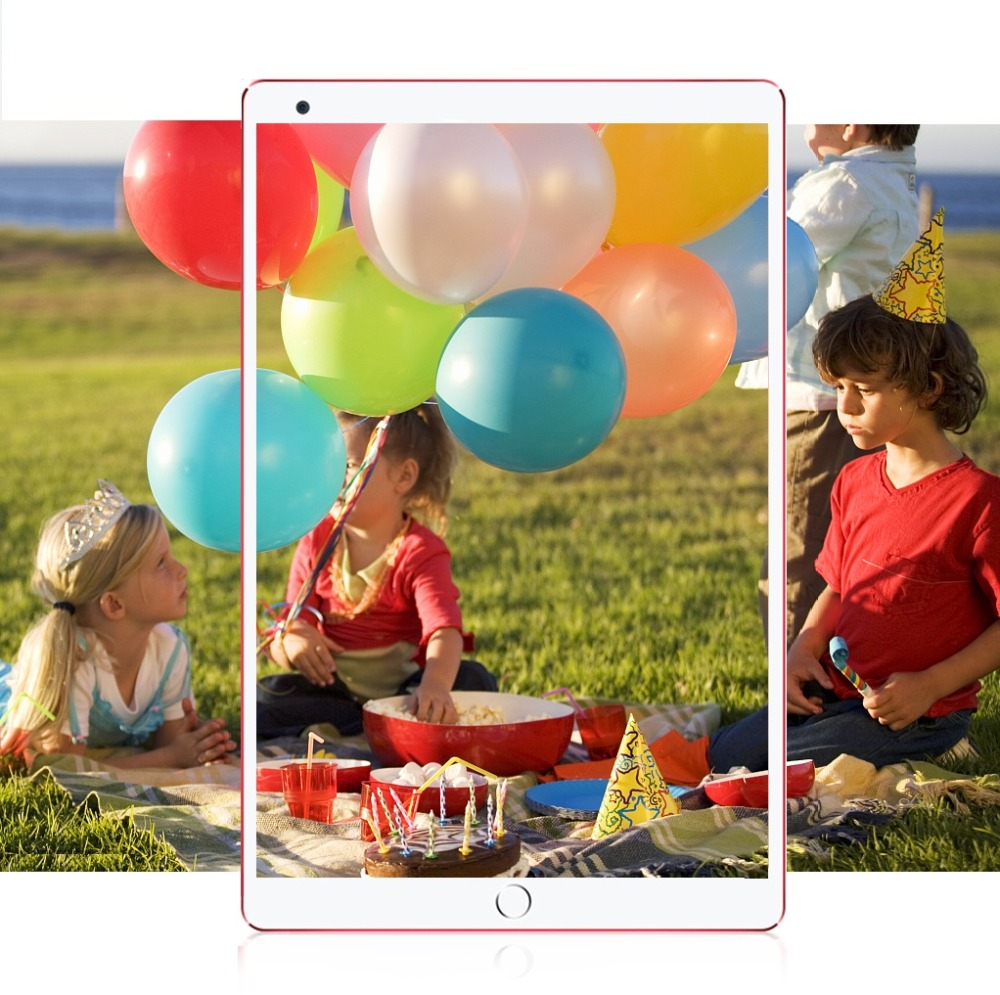 Free Shipping 10.1 Inch Tablet PC Quad Core 4GB RAM 64GB ROM Bluetooth WiFi Android 8.0 Multi Touch 1280*800 IPS Phablet