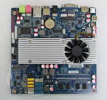 Mini PC Board Network Firewall PC Motherboard with T7100 Processor