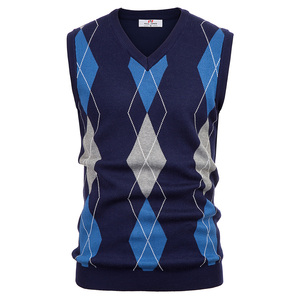 business work office Men sweater tops sp