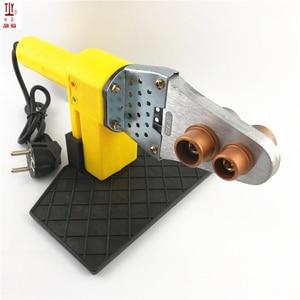 Image 2 - Jianhua máquina de solda, 1 conjunto de 220v 600w, tubos de plástico de aquecimento automático, ppr, pe, solda de tubos