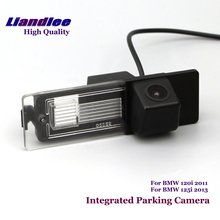 цена на Liandlee Car Rear View Backup Parking Camera For BMW 120i 2011 125i 2013 Rearview Reverse Camera / Integrated SONY CCD HD