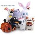 Бесплатная доставка Большой 7 Стилей Тайная Жизнь Домашних Животных Плюшевые Игрушки Собаки Животных Куклы Приятель Макс Снежок Мел Хлоя