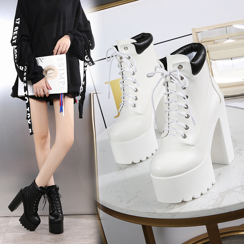 572f39a597 POADISFOO-14cm-Women-Ankle-Boots-Platform-Square-Heels-Super-High-Heels-Boots-Lace-UP-Casual-Shoes.jpg