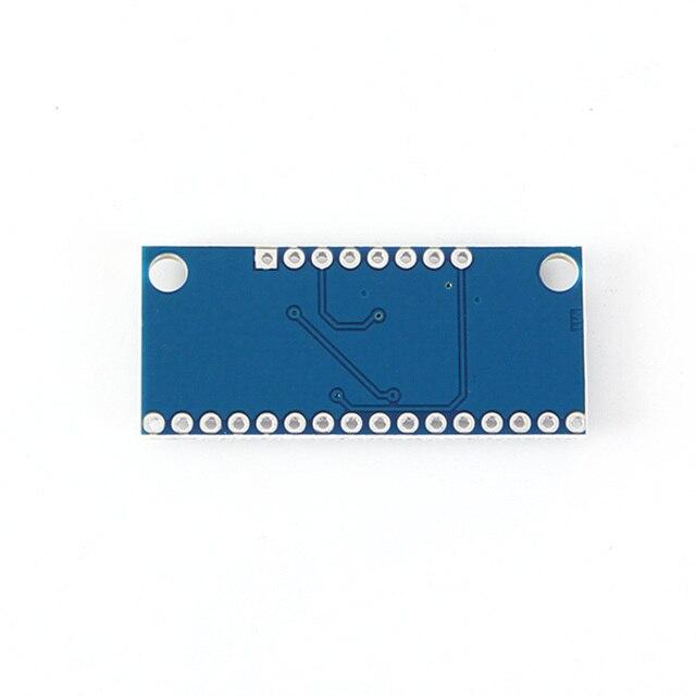 Arduino 마이크로 컨트롤러 장치 용 핀 cd74hc4067이있는 2 v-6 v 16 채널 아날로그 디지털 mux 브레이크 아웃 보드 모듈 멀티플렉서