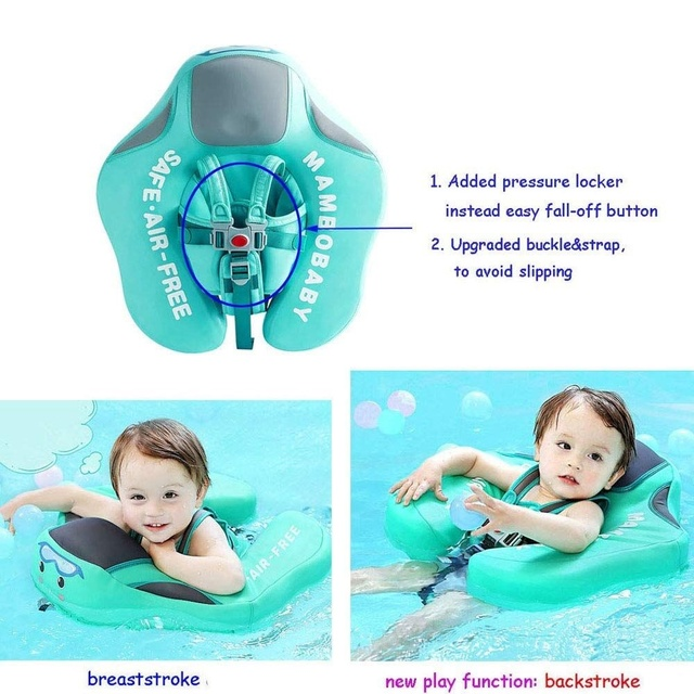 Solid No Inflatable Safety for accessories Baby Swimming Ring floating Swim ring float Suitable for 0-2-3-6 years old 4
