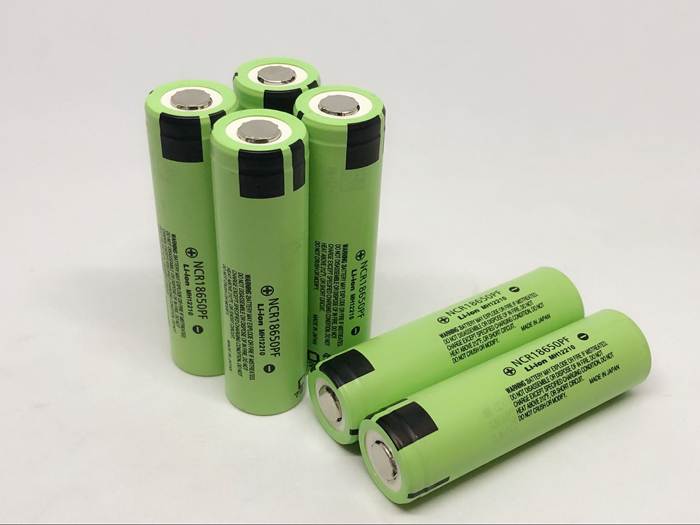 New Original Battery For Panasonic NCR18650PF 18650 PF 2900mah 10A High Drain Rechargeable 3.7V Lithium Batteries