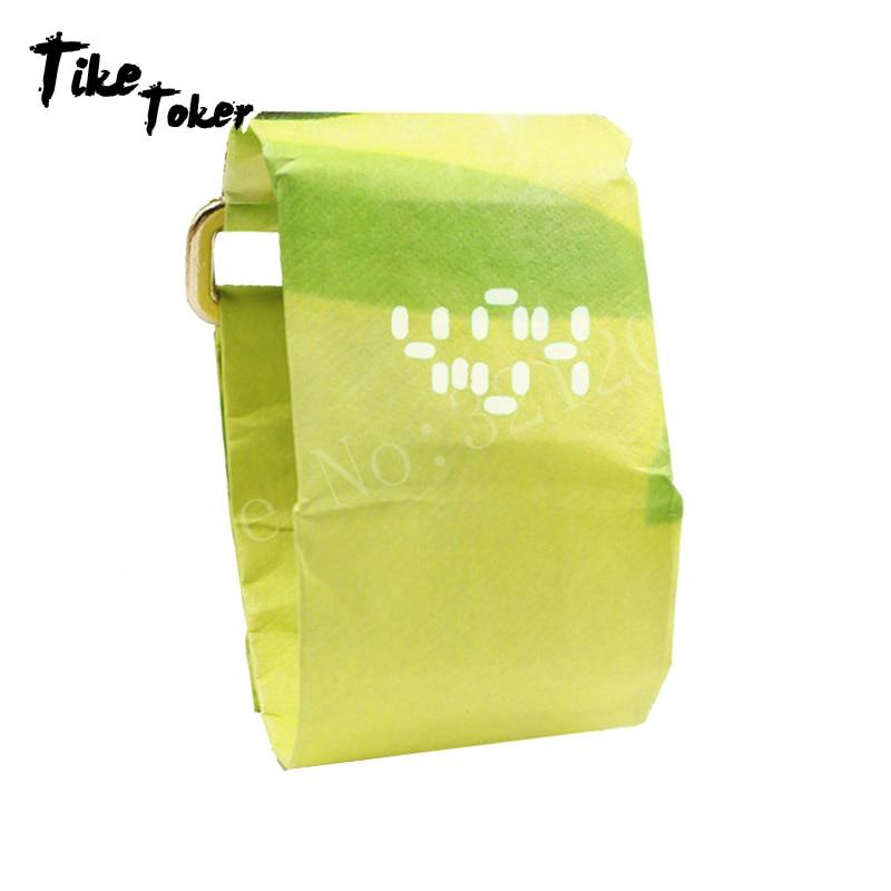 TIke Toker,Creative Digital Wristwatches Fashion Electronic Watches Smart Digital Paper Watch Clock Relogio Sale08