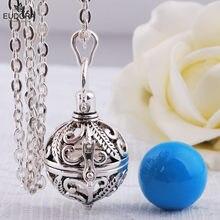 EUDORA Мехико Harmony Ball Chime звуковая бола медальон клетка кулон ожерелье для матери ребенка Подвеска