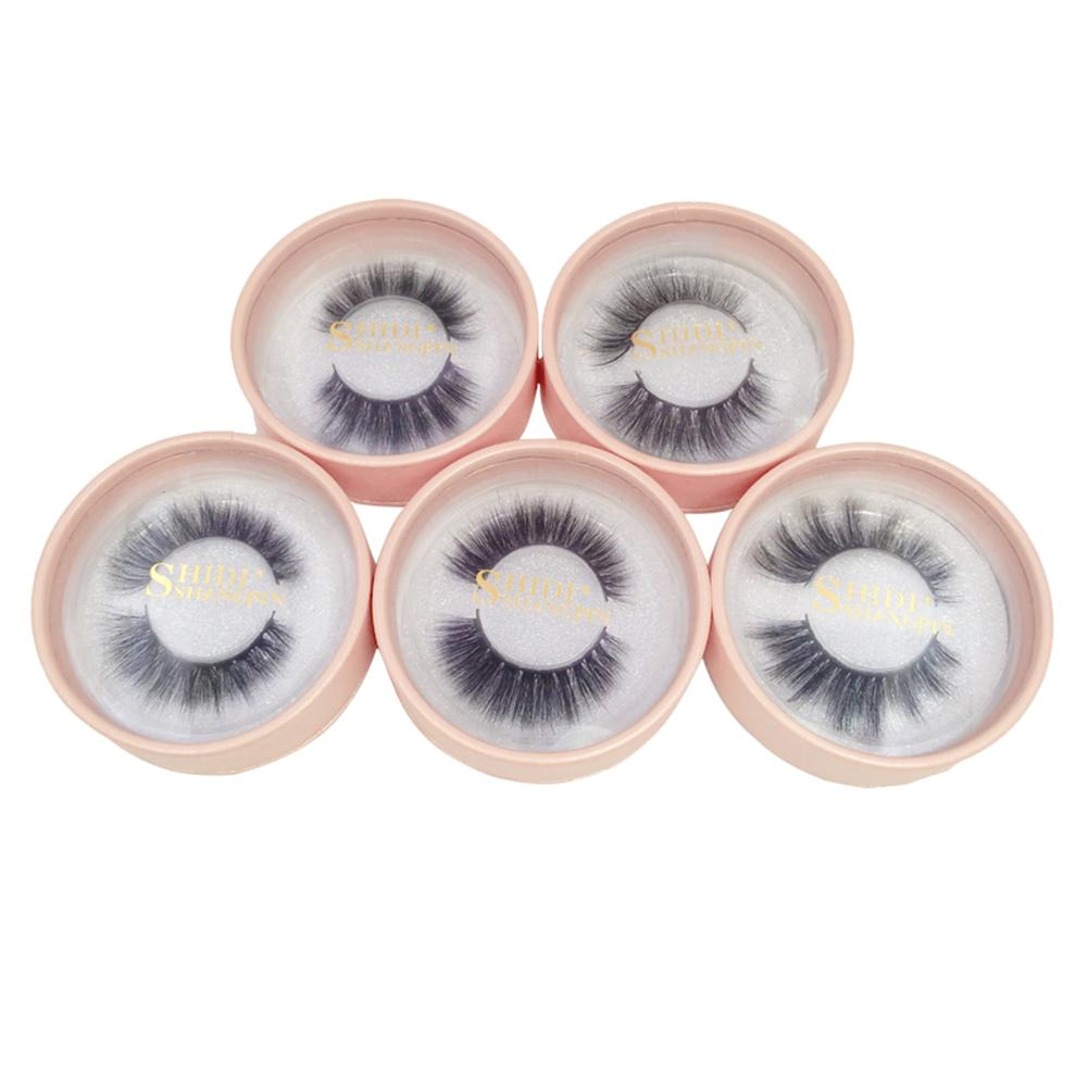 1 Pair Mink Eyelashes 3D Mink Hair Eyelashes False Eyelashes Handmade Mink Collection Natural Long 3D Dramatic Lashes Wholesale