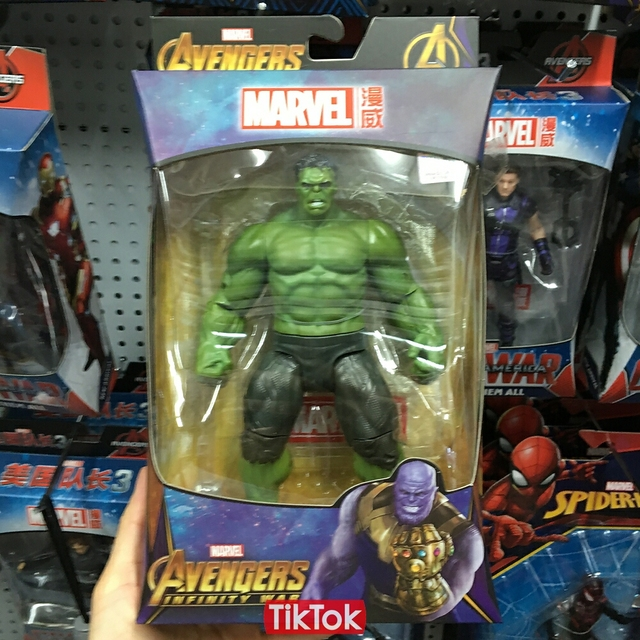 929d95f0 Movie Avengers Infinity War Hulk Bruce Banner Cartoon Toy Action Figure  Model Doll Gift