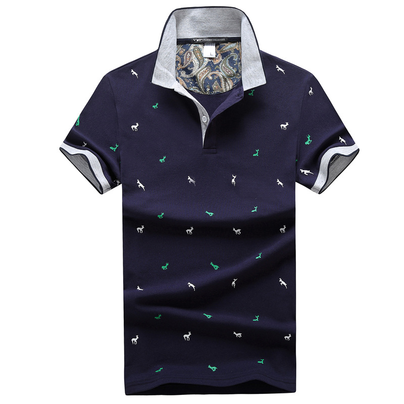 FGKKS Men Brand   Polos   Shirt Tee Top 2019 Summer Men's   Polo   Shirts Men Casual Clothing Business Male Breathable   Polo   Shirts