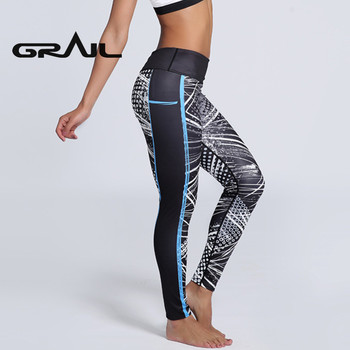 Women Sport Fitness Leggings Pattern Black Yoga Pants Spring Workout Pants New Arrival 3D Digital Print Pencil Trouser YOGA-0119