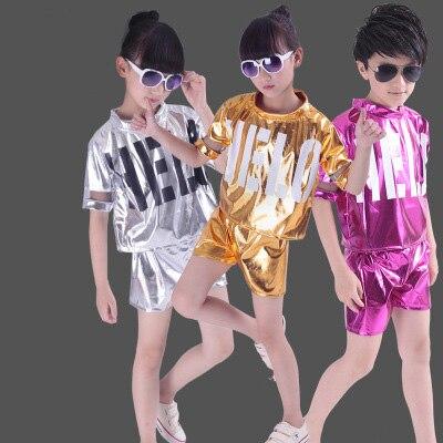 Kids hiphop costume jazz costume kids Boys jazz dance costume Gilrs jazz dance costumes Kids jazz costume