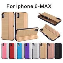 Для iphone Xs Макс стоять чехол силиконовый чехол Kickstand чехол для iphone XR Xs 6 7 8 плюс полное покрытие