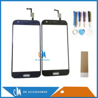 High Quality For Doogee BL5000 Touch Screen Digitizer Screen Black Blue Color With Adhseive Tape And