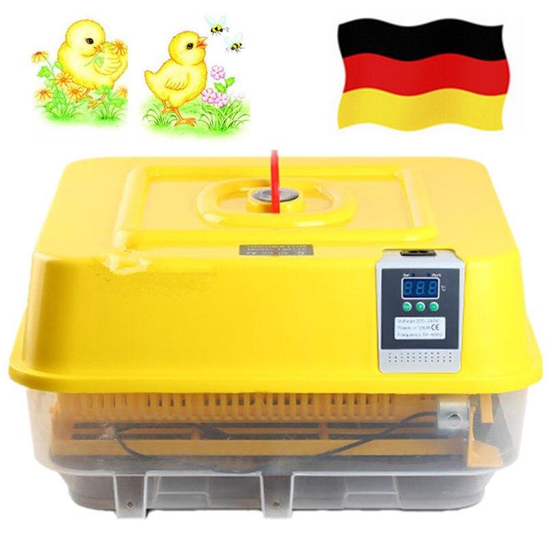 Entièrement automatique numérique couveuse poulet canard 42 oeuf incubateur Thermostat pour couver caille oiseau volaille oeufs