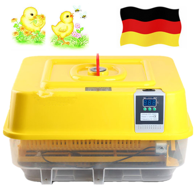 Fully Automatic Digital Brooder Chicken Duck 42 Egg Incubator Thermostat For Hatching Quail Bird Poultry Eggs