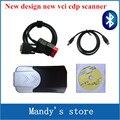 Новая модель TCS CDP pro новый vci vci с Bluetooth функции мвд cdp PRO COM Автомобили Грузовики сканирования 2015. R1/2014. R2 программное обеспечение DVD