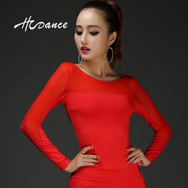 QC-1 Nova Latinska obleka ledena svilena zgornja oblačila - Odrska in plesna oblačila