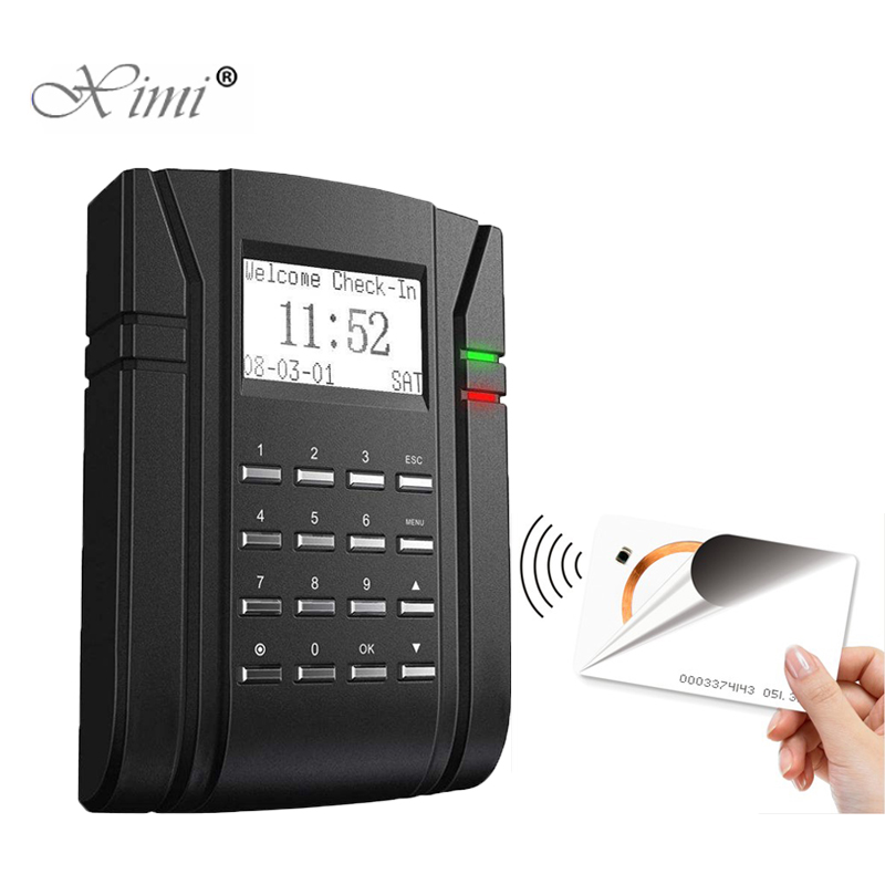 125KHZ RFID Card EM Card Access Control And Time Attendance ZK SC203 Door Access Control System Door Control system125KHZ RFID Card EM Card Access Control And Time Attendance ZK SC203 Door Access Control System Door Control system