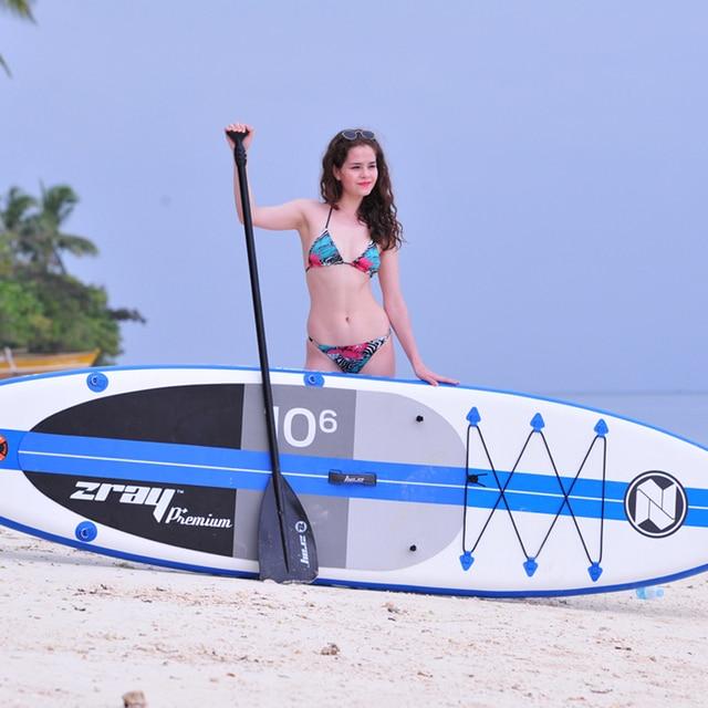 Tabla de surf 320x81x15 cm JILONG ZRAY A2 tour boa inflable sup stand up paddle Junta surf kayak deporte bote bodyboard