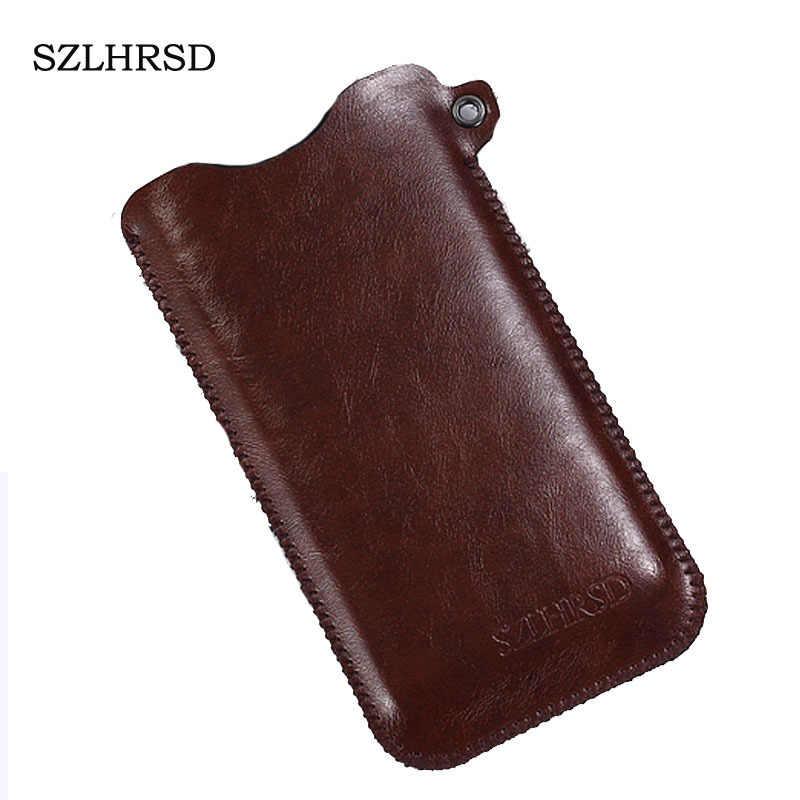 SZLHRSD para M-Horse Power 1 5 pulgadas funda para teléfono móvil Venta caliente funda Delgada funda para bolsa + cordón