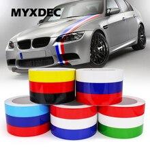 5 Meter DIY Dekoration Aufkleber Außen Auto Motorrad Film Wasserdicht Pvc aufkleber Deckt Für VW BMW 3 Farben Linie Styling