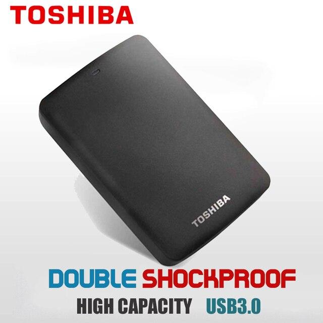 Toshiba sabit disk Taşınabilir 1 TB 2 TB 3 TB harici sabit disk 1 TB Disko Duro HD Externo USB3.0 HDD 2.5 Harddisk ücretsiz Kargo