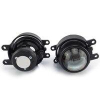 Front bumper headlight bifocal lens sport HID Xenon Halogen fog light lamp holder house for toyota Camry corolla avanza coaster