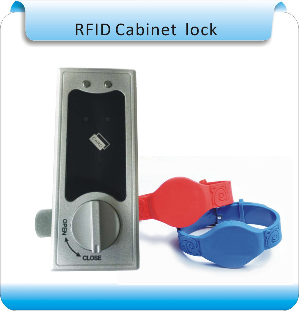 Diy 125khz Rfid Silicone Keys Cabinet Door Electric Lock