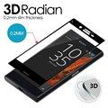 3d curvada para 5.2 ''sony xperia xz móvil 9 h anti-explosión de cristal templado protector de pantalla de la cubierta completa película en stock