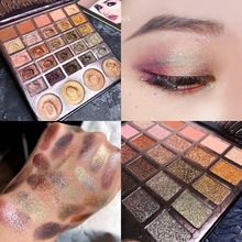 Cosmetic 29 Colors Eyeshadow Palette Shimmer Matte Glitter Eyeshadow Pallete Pigment Shimmer Luminous Highlighter Makeup Palette single eyeshadow pallete empty magnet palette shimmer matte glitter eyeshadow palette pigment smoky balm makeup palette cosmetic