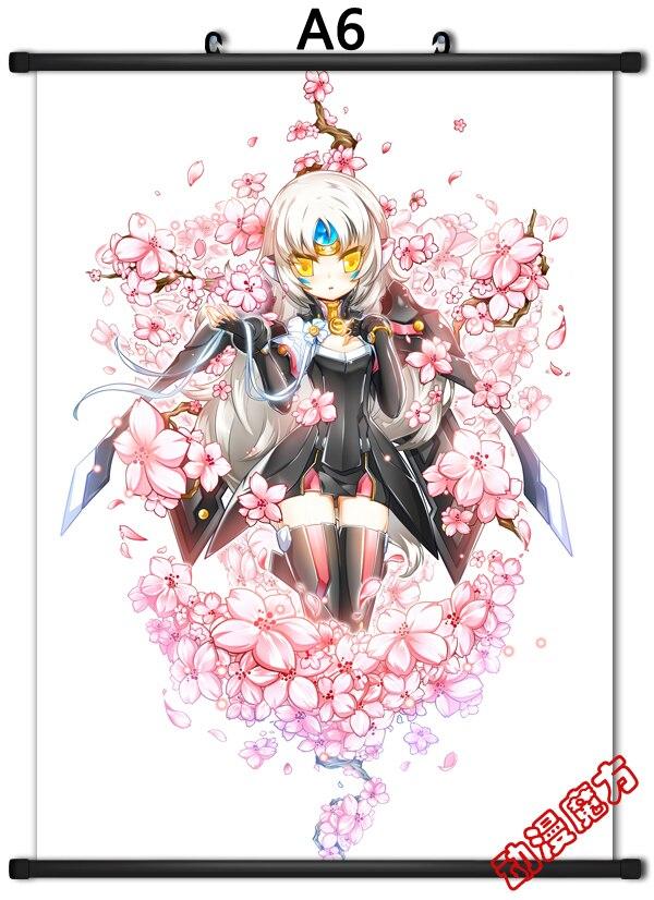 Anime Elsword Sword Knight Aisha Rena Raven Eve Chung
