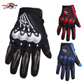 Hot Sale Pro-Biker Motorcycle Gloves Motorbike Full Finger Moto Gloves Off Road Motocross Scooter Racing Gloves Protective Gear