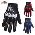 Venta caliente pro-motorista de la motocicleta guantes llenos del dedo guantes de moto off road motocross moto racing equipo de protección
