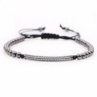 Anil Arjandas Men girl Bracelets Micro inlay zircon beads High quality do not fade Free shipping Men Jewlery