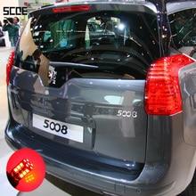 Для peugeot 5008 для 5008 с Xenon SCOE 2X 30SMD светодиодный тормоз/Стоп/парковка задний/габаритные огни/источник света автомобиля Стайлинг