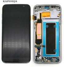 Super AMOLED LCD Display For Samsung Galaxy S7 Edge G935 G935F LCD Display Touch Screen Digitizer Assembly best quality for samsung galaxy s7 edge g935 lcd display touch screen with digitizer assembly replacement free shipping