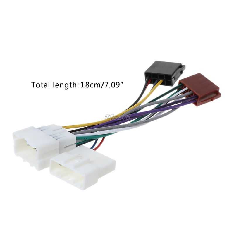 Adaptador de conector de arnés de cableado ISO para RENAULT 2012 +/DACIA 2011 + (Seleccionar modelo) Feb20 Drop Ship