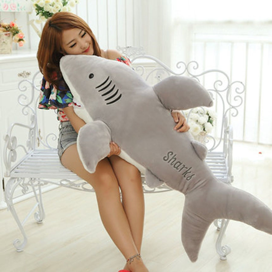 Shark Plush Toy Stuffed Pillow Doll Birthday Gift Kids Toy High Quality Baby Toy Brinquedos For Children Birthday Gift 70C0068 bolafynia children plush stuffed toy cute small raccoon baby kids toy for christmas birthday gift